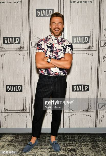 """Derek HoughÊvisits Build Series to discuss Season 2 of """"World of Dance"""" at Build Studio on May 14, 2018 in New York City."""