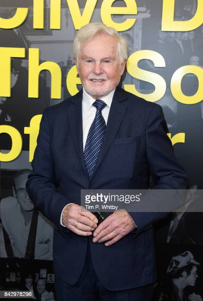 Derek Jacobi arrives for the Clive Davis 'Soundtrack Of Our Lives' special screening at The Curzon Mayfair on September 5 2017 in London England