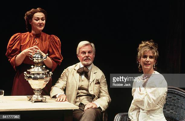 Derek Jacobi Frances Barber and Imogen Stubbs perform in a Chichester Theatre production of 'Uncle Vanya' | Location Chichester Theatre Chichester...