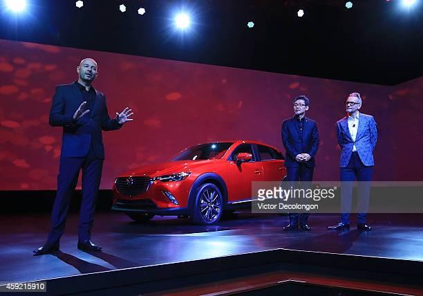 Derek Jenkins Director of Design Mazda North American Operations Ikuo Maeda Executive Officer Design Chief Mazda and Kevin Michael Rice Creative...