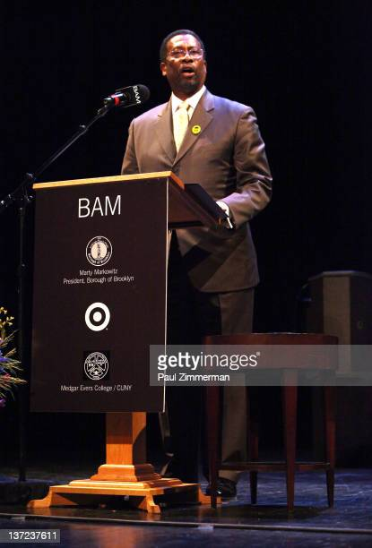 Derek Jenkins Of Target Attends The 6th Annual Brooklyn Tribute To Dr Martin Luther King Jr