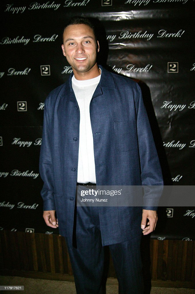 Derek Jeter's Birthday Party at the Maritime Hotel - June 27, 2004