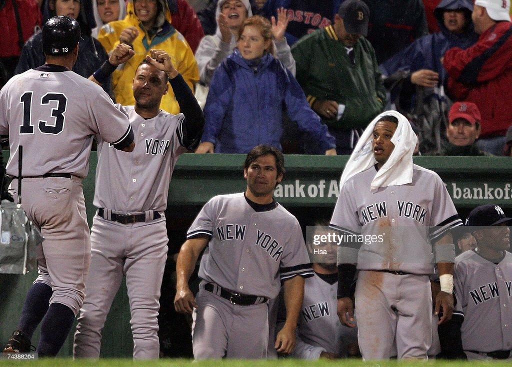 New York Yankees v Boston Red Sox : News Photo