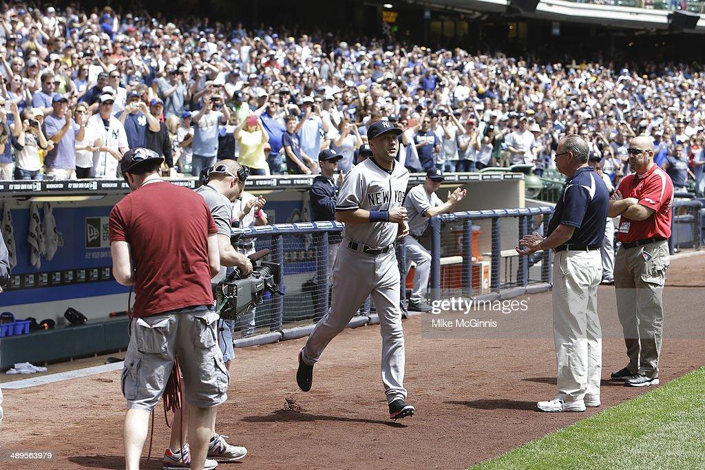 New York Yankees v Milwaukee Brewers : News Photo
