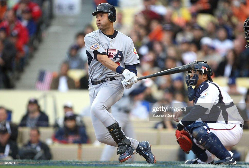World Baseball Classic 2009 - USA v Japan : News Photo