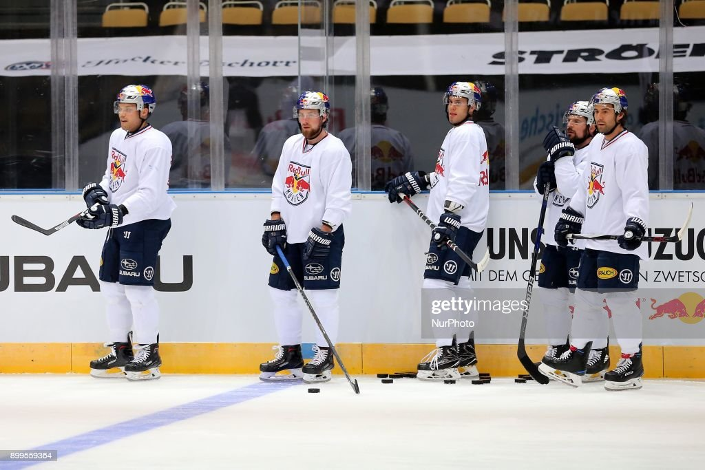 Training Session Red Bull Munich - German Ice Hockey League