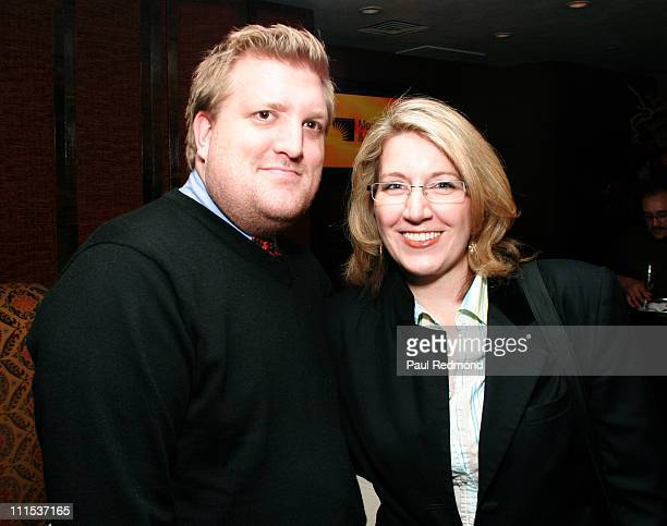 Derek Krull and Jennifer Clymer during The 10th Anniversary of The Next Generation Council of the MPTF at Crustacean in Beverly Hills California...