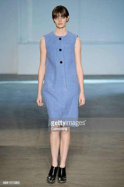 Derek Lam Autumn Winter 2014 fashion show during New York Fashion Week on February 9, 2014 in New York, United States.