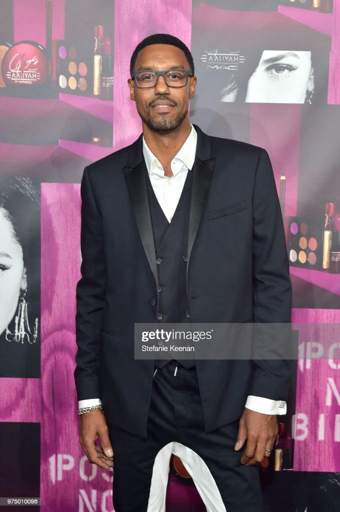 Derek Lee attends MAC Cosmetics Aaliyah Launch Party on June 14, 2018 in Hollywood,