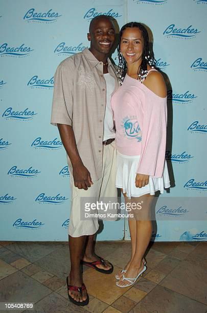 Derek Luke and Sophia Luke during Sehorn's Corner Mother's Day Weekend Day 3 at Beaches Boscobel Resort and Golf Club in Ocho Rios Jamaica