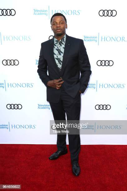 Derek Luke attends the 11th Annual Television Academy Honors at NeueHouse Hollywood on May 31 2018 in Los Angeles California
