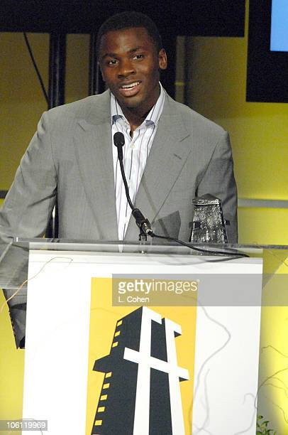 Derek Luke during Hollywood Film Festival - 10th Annual Hollywood Awards - Show at The Beverly Hilton Hotel in Beverly Hills, California, United...
