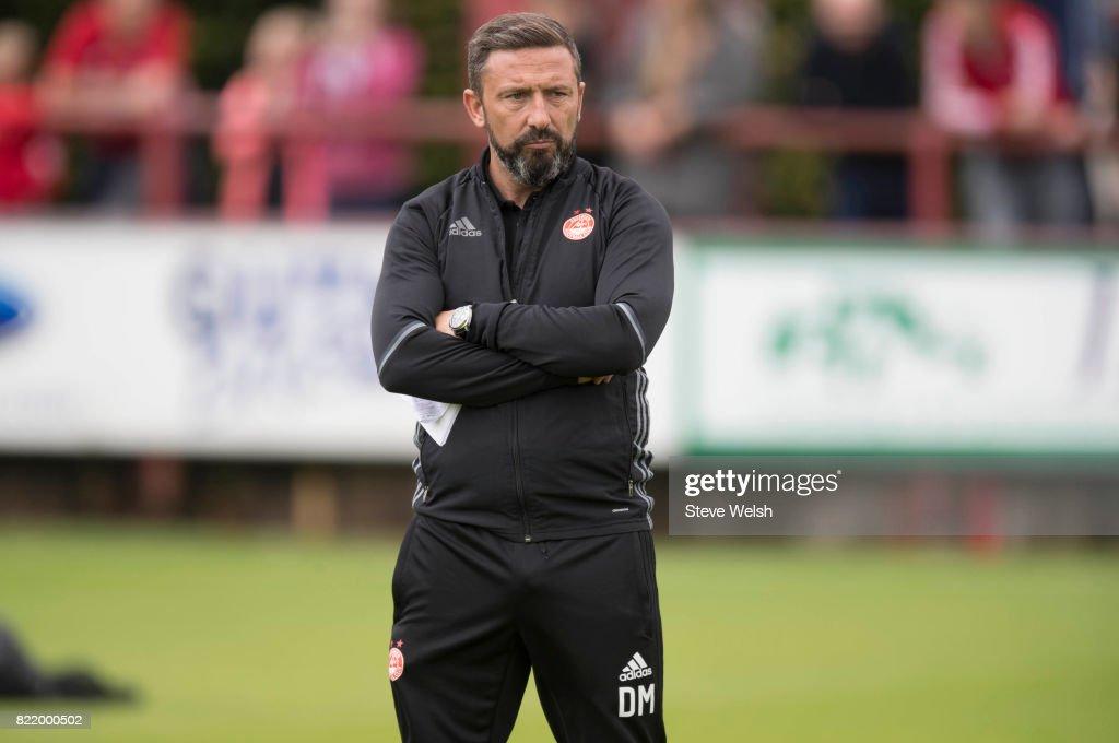 Brechin City v Aberdeen - Pre Season Friendly : News Photo