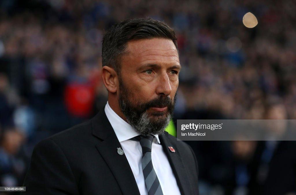 Aberdeen v Rangers - Betfred Scottish League Cup Semi Final : News Photo