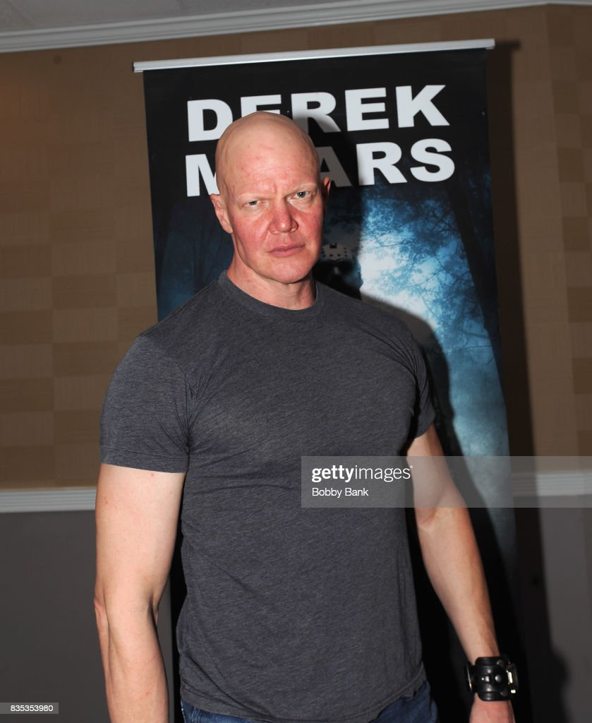Derek Mears attends the Monster Mania Con 2017 at NJ Crowne Plaza Hotel on August 18, 2017 in Cherry Hill, New Jersey.