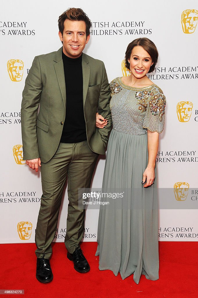 Derek Moran (L) and Jen Pringle attend the British Academy Children's Awards at The Roundhouse on November 22, 2015 in London, England.