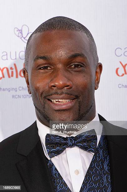 Derek Redmond attends The Butterfly Ball A Sensory Experience in aid of the Caudwell Children's charity at Battersea Evolution on May 16 2013 in...