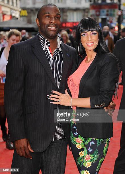 Derek Redmond attends the 'Chariots Of Fire' UK Film Premiere at Empire Leicester Square on July 10 2012 in London England
