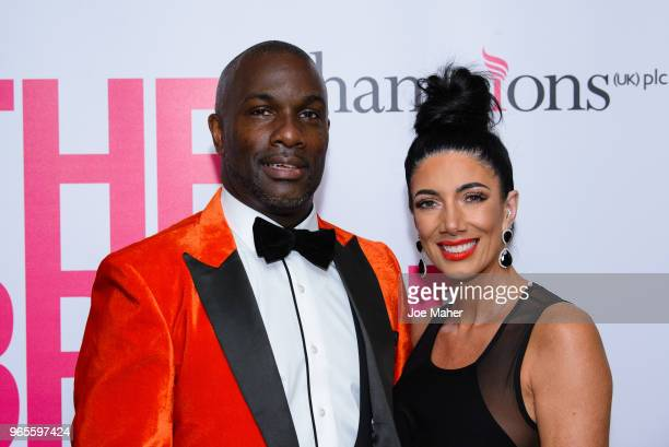 Derek Redmond attends the Rainbows Celebrity Charity Ball at Dorchester Hotel on June 1 2018 in London England