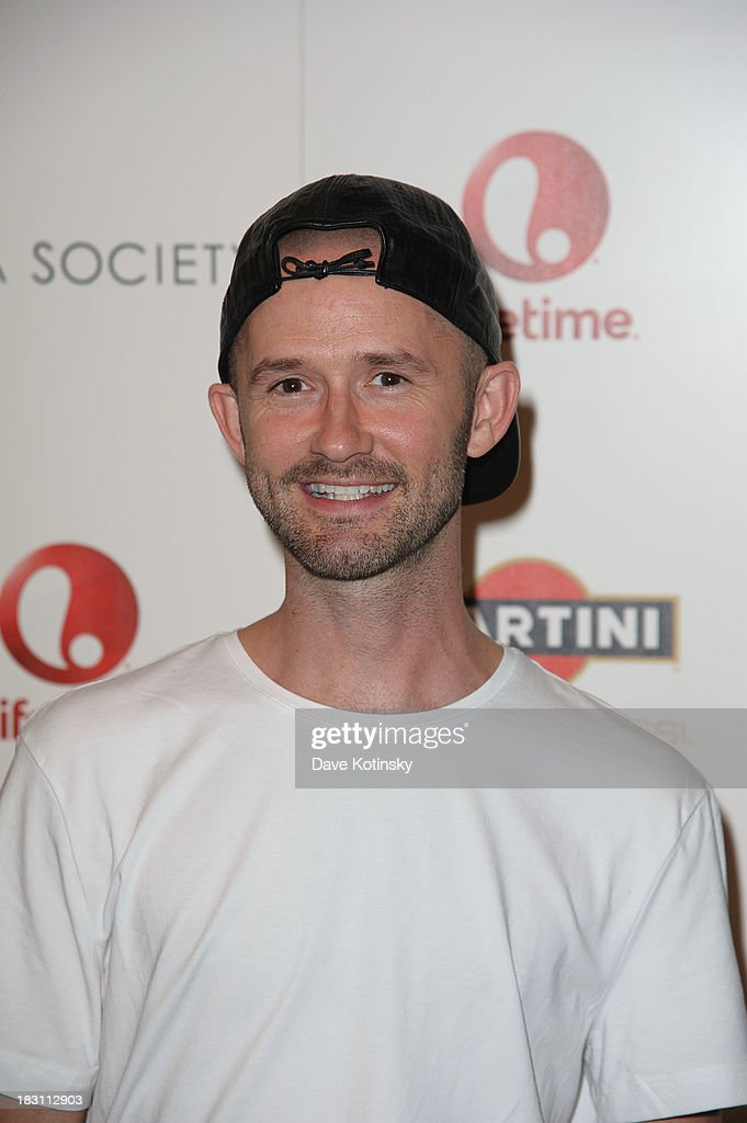 Derek Roche attends Marvista Entertainment And Lifetime With The Cinema Society Host A Screening Of 'House Of Versace' at MOMA on October 3, 2013 in New York City.