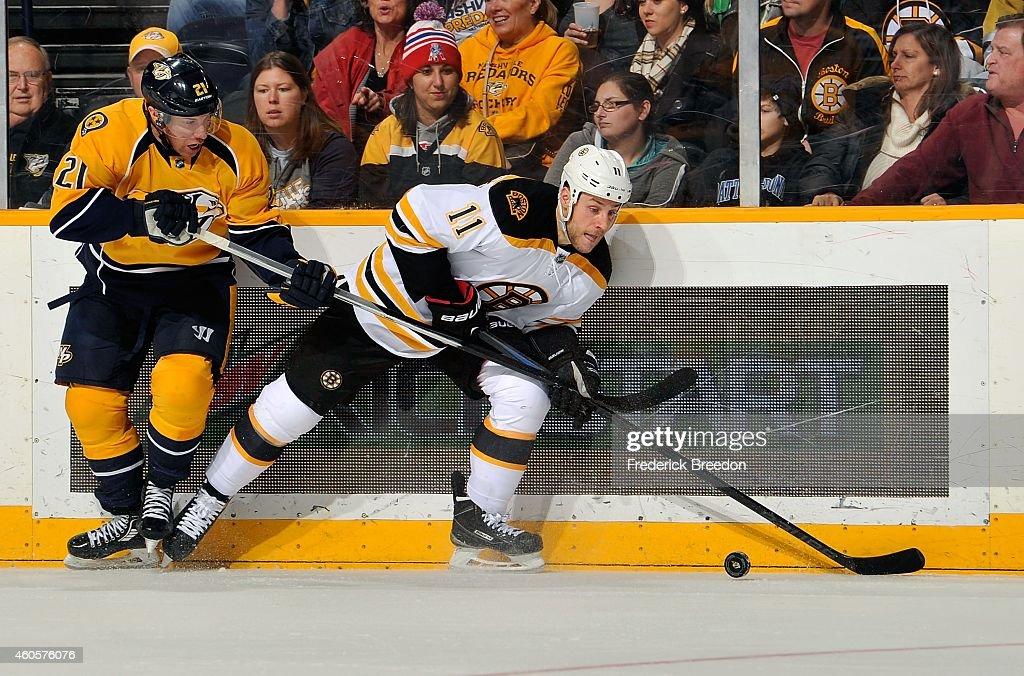 Boston Bruins v Nashville Predators : News Photo