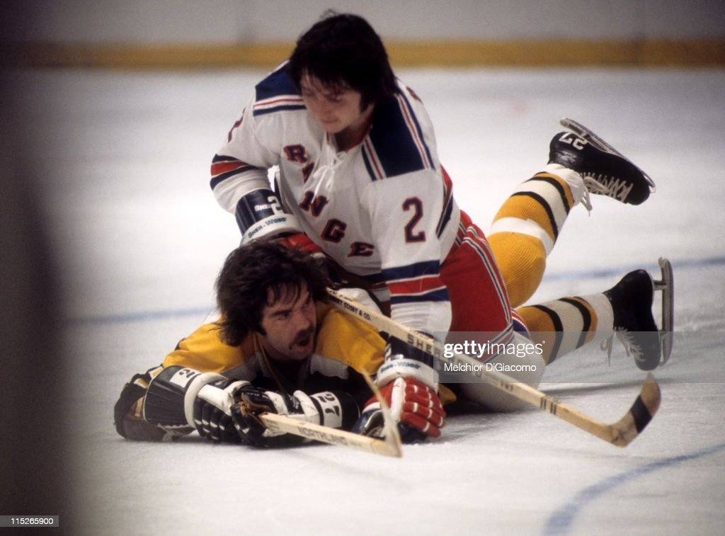 Boston Bruins v New York Rangers : News Photo
