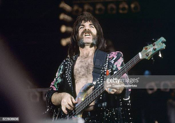 Derek Smalls of Spinal Tap performing on stage during the Freddie Mercury Tribute Concert for Aids Awareness at Wembley Stadium in London on the 20th...
