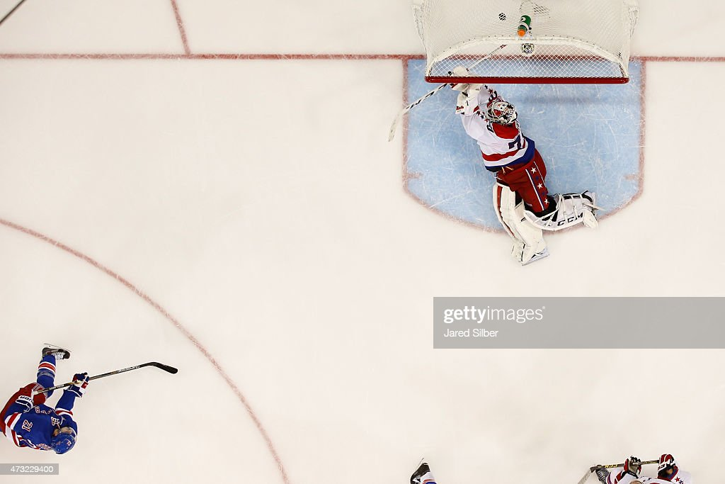 Washington Capitals v New York Rangers - Game Seven : News Photo