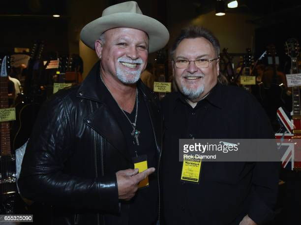 Derek StHolmes Ted Nujent Band/Whitford StHolmes Band and Ed King Founding member Lynyrd Skynyrd Hall of Fame 2006 attend 2017 Amigo Nashville Guitar...