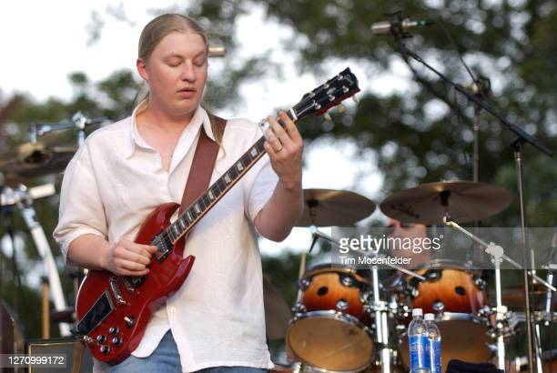 Derek Trucks and Butch Trucks of the Allman Brothers Band perform during day one of the Austin City Limits Music Festival at Zilker Park on September...