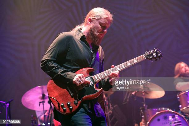 Derek Trucks of Tedeschi Trucks Band performs at The Capitol Theatre on February 21 2018 in Pt Chester New York
