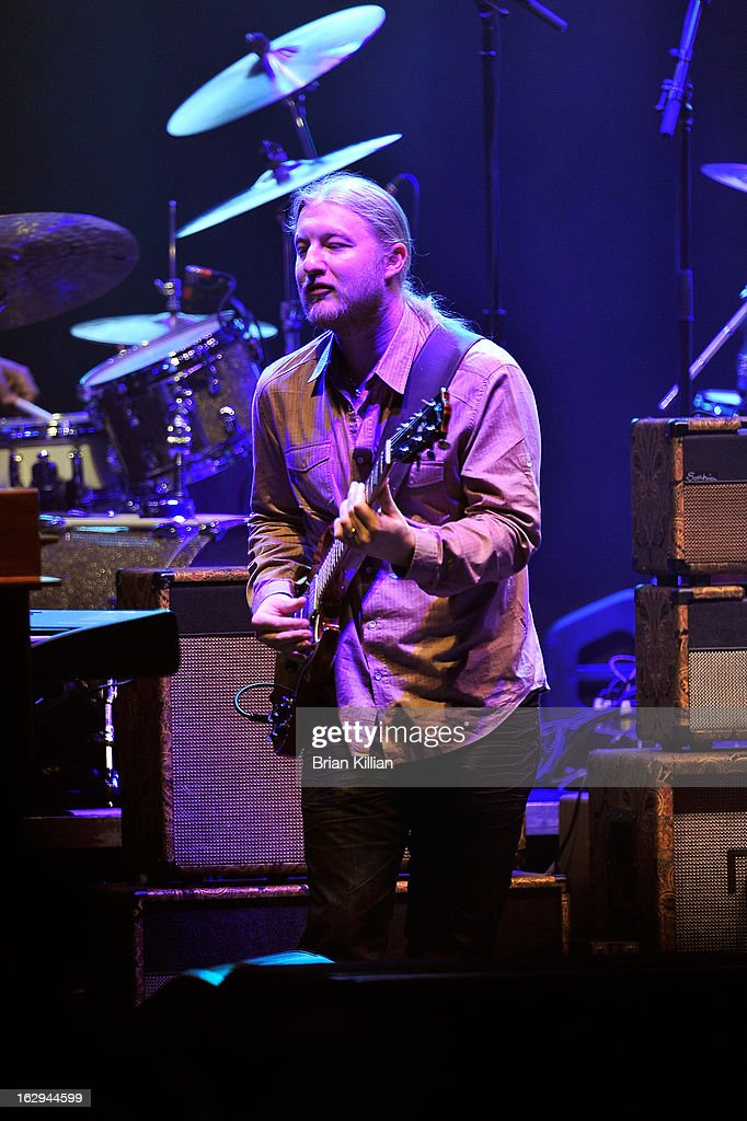 Derek Trucks of The Allman Brothers Band performs at Beacon Theatre on March 1, 2013 in New York City.