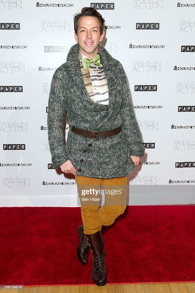 Derek Warburton attends Fashion for Action 2012 at the Altman Building on November 7, 2012 in New York City.