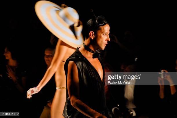 Derek Warburton attends Richie Rich 2011 Fashion Show at The Studio at Lincoln Center on September 9 2010 in New York City