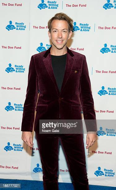 Derek Warburton attends the 2013 Doe Fund gala at Cipriani 42nd Street on October 24, 2013 in New York City.