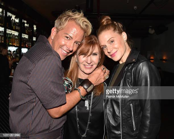 Derek Warburton Nicole Miller and Christiane Seidel attend the Nicole Miller Spring 2019 After Party at Acme on September 6 2018 in New York City