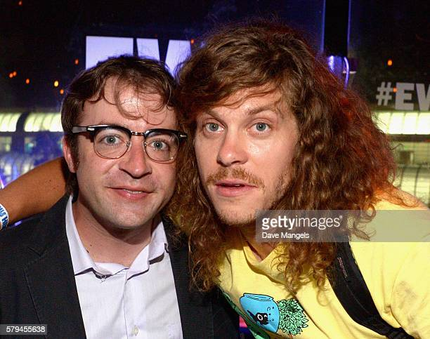 Derek Waters and Blake Anderson attend Entertainment Weekly's ComicCon Bash held at Float Hard Rock Hotel San Diego on July 24 2016 in San Diego...