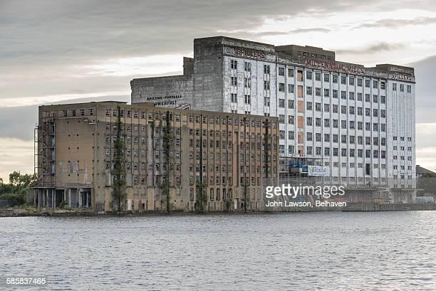 Derelict buildings, London docklands