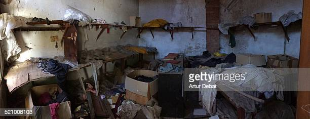 derelict buildings - maresme stock photos and pictures