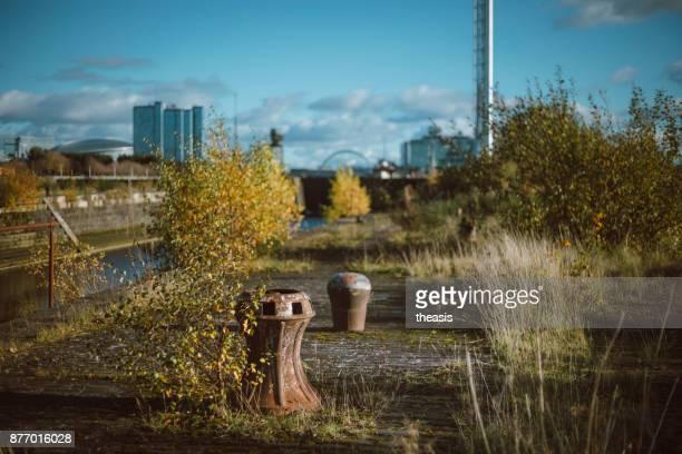 Derelict Glasgow Docks