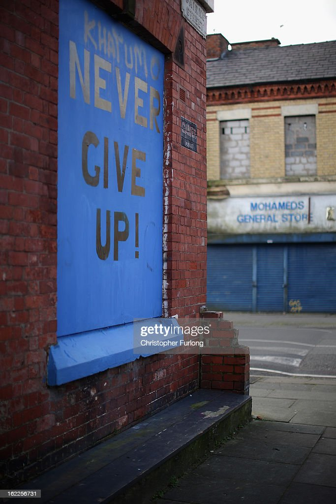 Derelict homes stand in Cairns Road, Liverpool, one of the locations in the 'Granby Triangle' on February 21, 2013 in Liverpool, England. Liverpool Council are proposing to sell off a selection of it's derelict housing stock for one GB Pound each in the failed redevelopment area known as the Granby Triangle.