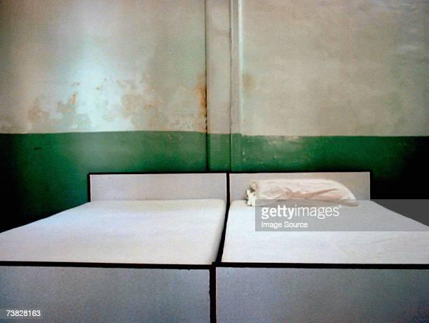 Derelict hotel room