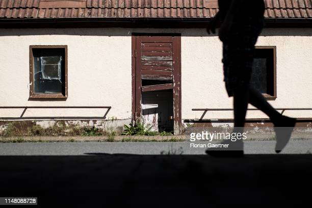 A derelict house is pictured on June 02 2019 in Klitten Germany