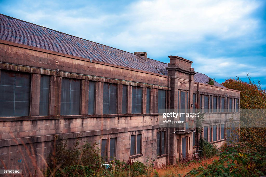 Derelict School Building Once Part Of Rothesay Academy Isle Bute