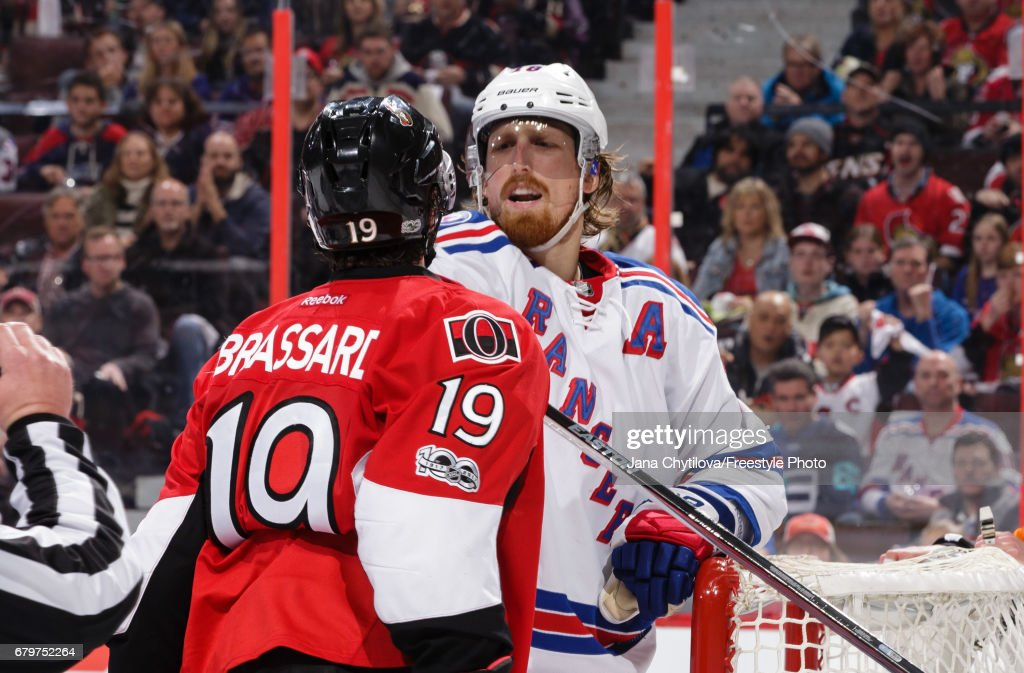 New York Rangers v Ottawa Senators - Game Five : News Photo