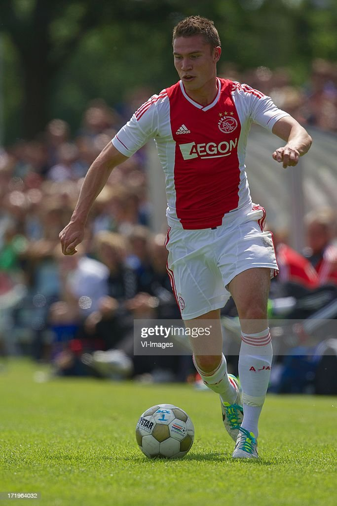 Derk Boerrigter of Ajax during the pre season friendly match between SDC Putten and Ajax on June 29, 2013 in Putten, The Netherlands.