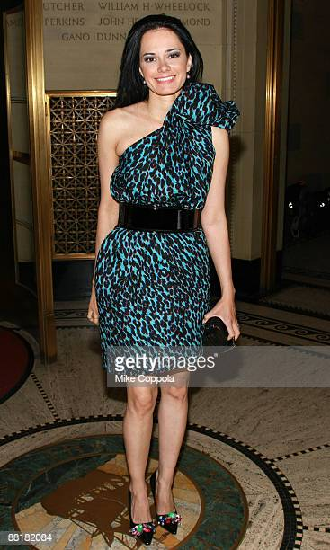 Dermatologist Dr Lisa Airan attends the Gordon Parks Foundation's Celebrating Fashion Awards Gala at Gotham Hall June 2 2009 in New York City