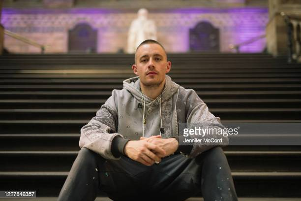 Dermot Kennedy at the Natural History Museum on July 30, 2020 in London, England. The performance was livestreamed for ticket holders during the...