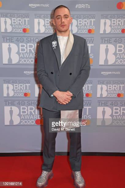 Dermot Kennedy attends The BRIT Awards 2020 at The O2 Arena on February 18 2020 in London England