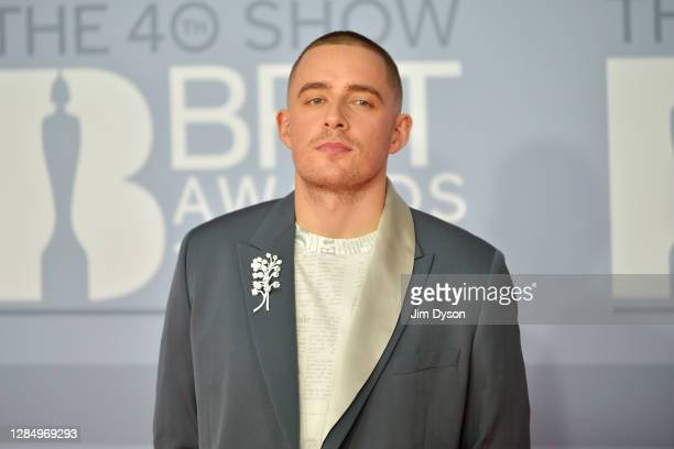 Dermot Kennedy attends The BRIT Awards 2020 at The O2 Arena on February 18, 2020 in London, England.